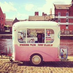 Why not be unique and hire an ice cream truck? Ideal to keep your guests cool in the Summer months and add a quriky feeling to your wedding. Weddings avaliable at Pentillie Castle www.Pentillie.co.uk