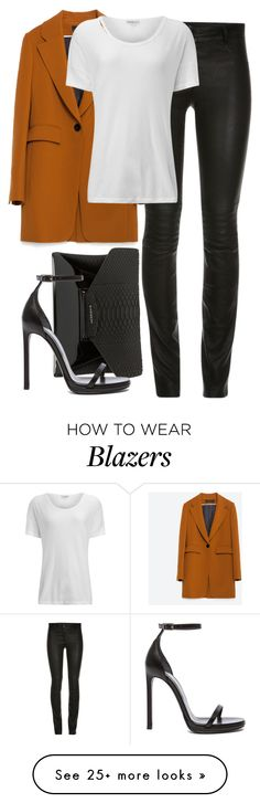 """""""Givenchy x Zara"""" by muddychip-797 on Polyvore featuring Zara, James Perse, Givenchy, Yves Saint Laurent, YSL, zara, saintlaurent and fashionset"""