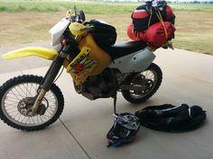 Suzuki adventure set up. DRZ400