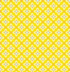 Home / Fabric Designers / Heather Bailey / Pop Garden and Bijoux / Tiled Primrose in Gold Textile Patterns, Print Patterns, Textiles, Paper Design, Fabric Design, Heather Bailey, Pink Chalk, Mellow Yellow, Big Yellow