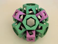 Truncated Octahedron With Prisms On All Faces