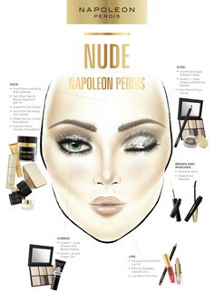 Learn how to create nude makeup the right way. Get inspiration and makeup tips on what products to use to achieve this look with Napoleon Perdis makeup.
