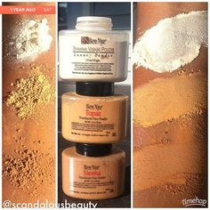 I love these powders! Very light and easy to build up... If needed. BEN NYE POWDERS ROCK!