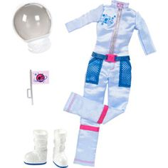 Barbie Uniformes Quero Ser  Astronauta - Mattel