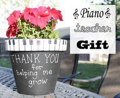 Piano Teacher Gift Music Teacher Gift Www.brightsunshinydays.com