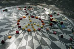 NYC - Central Park: Strawberry Fields - Imagine Mosaic, via Flickr.