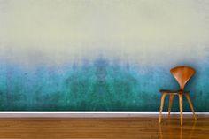 Blue Grunge Wall Mural Wallpaper Wall Mural | MuralsWallpaper.co.uk