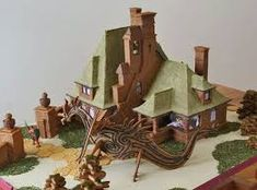 Image result for gingerbread castle
