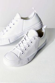 9a45f022b5d Converse Abbey Mono Leather Low Top Sneaker. Converse TrainersConverse  ShoesWomen s ...
