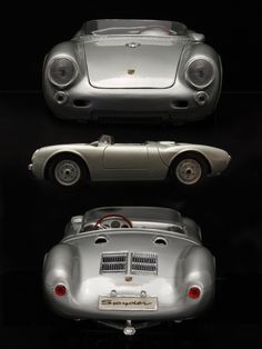 The Porsche 911 is a truly a race car you can drive on the street. It's distinctive Porsche styling is backed up by incredible race car performance. Vintage Sports Cars, Classic Sports Cars, Vintage Race Car, Classic Cars, Porsche 550 Spyder, Porsche Cars, Porsche Roadster, Porsche 2020, Porsche Panamera