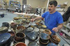 Phoenix Fired Art exhibits the clayworks of dozens of artists and offers a series of classes for you to get your hands dirty.  Every Third Thursday, they are hoppin'!
