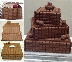 Chocolate Block Cakes