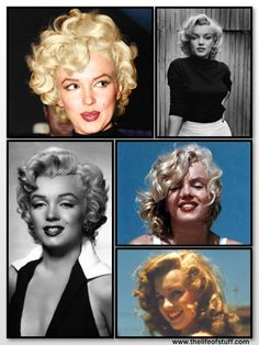 The Life of Stuff   Personal and Irish Lifestyle Blog: Embrace Your Curls Natually Curly Haired Girls Marilyn Monroe Curly Hair