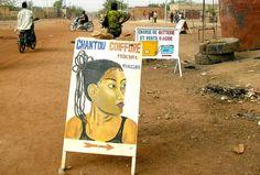 à ouagadougou, sur la route de ziniare