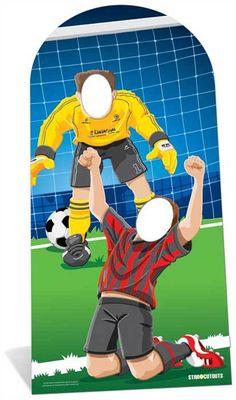 Starstills.com - World Cup Footballer Lifesize Cardboard Stand-in Cutout / Standee / Standup, £29.99 (http://www.starstills.com/world-cup-footballer-lifesize-cardboard-stand-in-cutout-standee-standup/)