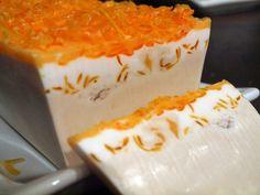 Handmade Orange Vanilla Soap by stylesbym on Etsy