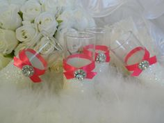 Bachelorette Party Favors, Wedding Favor, Bridesmaid Gift, SET OF 6, Bridal Party Gifts, Shot Glass, Girls Night Out, Wedding Party, GLITTER