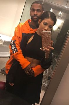Couple Goals Relationships, Relationship Goals Pictures, Couple Relationship, Black Couples Goals, Cute Couples, Big Sean And Jhene, I Have A Boyfriend, Me And Bae, Bonnie Clyde