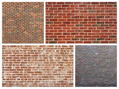 Free collection of brick texture
