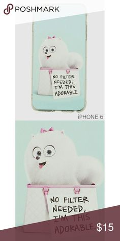 IPhone 6 Case The Secret Life Of Pets Character Gidget Print Tpu Gel Rubber Case For Iphone 6  Color : SKY BLUE-MULTI Size : IPHONE 6 Accessories Phone Cases