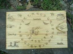 Solid Wood Ouija Board
