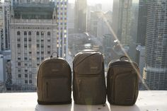 Nice view. JanSport x I Love Ugly release a second capsule collection featuring three silhouettes crafted with special-edition grey felt iterations of the AXIOM, IRON SIGHT and PLATFORM