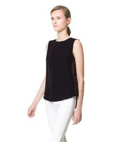 Image 1 of SLEEVELESS TOP from Zara