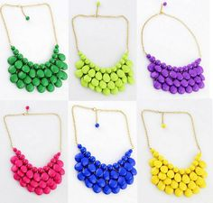 The Pretty Life Anonymous | Colorful Statement Necklaces for under $10 + Free Shipping!  | http://prettylifeanonymous.blogspot.com/