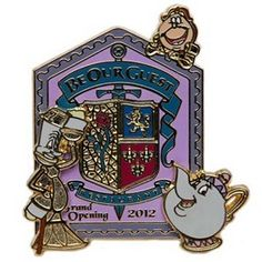 Disney New Fantasyland Pin - Be Our Guest Restaurant Grand Opening