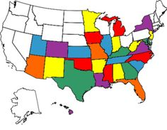 Us Map States Ive Visited Us Map Of The United States - Map of us states i ve visited