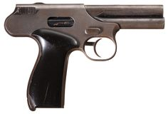 Interesting Unidentified Experimental Semi-Automatic Pistol