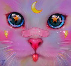 Kawaii Drawings, Cute Drawings, Art And Illustration, Dibujos Tumblr A Color, Digital Art Girl, Kawaii Art, Pretty Art, Anime Art Girl, Anime Angel Girl