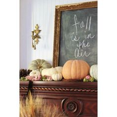 French Country Cottage Fall Decor