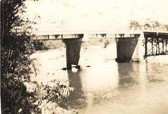 Bridge over Murder Creek near Brewton, Alabama