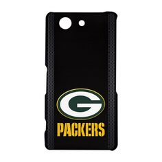 Green Bay Packers Logo Inspired Sony Xperia Z3 Compact Hardshell Case