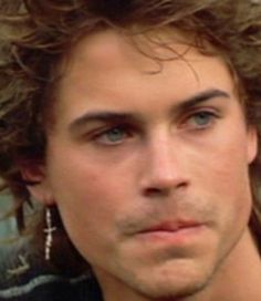 Rob Lowe as a young guy....looking good.