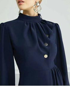 17 Trendy Ideas Dress Pattern Winter Fashion Source by kartaltugce dresses hijab Muslim Fashion, Hijab Fashion, Fashion Dresses, Party Fashion, Street Fashion, Fashion Fashion, Retro Fashion, Mode Chic, Mode Style