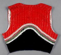 Vest, 20th century
