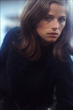Habitually Chic®: Style Inspiration: Charlotte Rampling. Natural Beauty