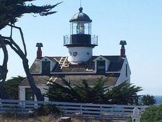 Point Pinos Lighthouse in Monterey