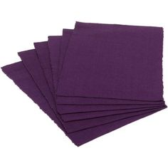 Set Of 6 Wine Ribbed Placemat Purple - Design Imports Cotton Napkins, Napkins Set, Braids With Weave, Placemat Sets, Cutwork, Modern Rustic Interiors, Stitch Design, Season Colors, Color Pop