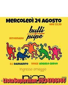 Mercoledì 24 Agosto NICE RE-PENING ...dopo la pausa di Ferragosto ritorna l'appuntamento infrasettimanale di Roma @ Nice. Bulli & Pupe INGRESSO OMAGGIO in #LISTASUPERMAN http://ift.tt/2bM06aS - http://ift.tt/1HQJd81