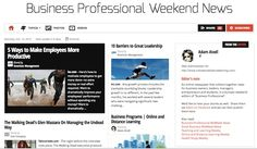 """Oct 13 - Business Professional Weekend News:  An online newspaper that collects together news for business owners, leaders, managers, entrepreneurs and students, in a bumper weekend edition of """"Business Professional"""".    Read and subscribe free at:  http://paper.li/f-1330205786"""