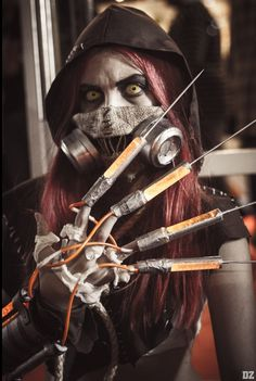 Scarecrow by Flor B cosplay