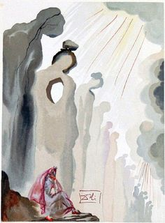 Salvador Dalí's Sinister and Sensual Paintings for Dante's Divine Comedy