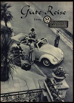 Classic Car News Pics And Videos From Around The World Volkswagen, Vw Bus, Van Vw, Vw Beetle Convertible, Vw Cabrio, Vw Vintage, Vintage Book Covers, Import Cars, Car Posters