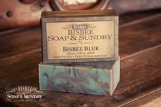 Named after the turquoise found only in the copper mines in Bisbee. Scented with a delicate combination of fresh Juniper and florals mingled with light mus Mens Soap, Theobroma Cacao, Olive Fruit, Cold Process Soap, Bar Soap, Seed Oil, Soap Making, Shea Butter, Soaps