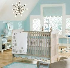 Trying to get away with a blue nursery
