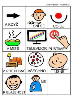 Pro Šíšu: Básničky i pro autíky Language, This Or That Questions, Cards, Autism, Languages, Playing Cards, Maps