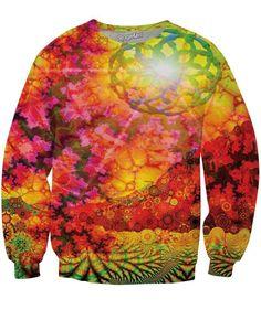 Solar Mandala Crewneck Sweatshirt
